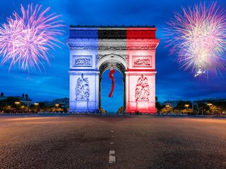 Congratulations on the occasion of the national day of France