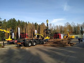 Forest Drive 2019 — check the forestry equipment with us